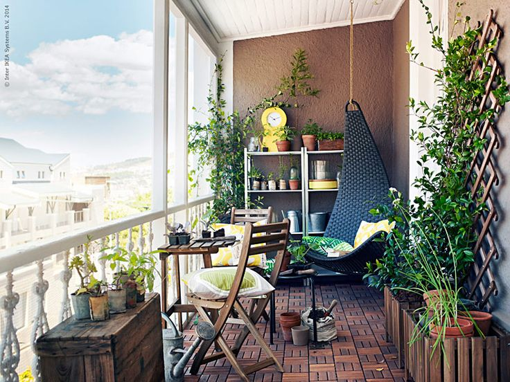 Ikea outdoor catalog for summer balcony table ideas