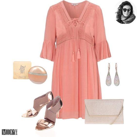 romantické ružové šaty – MODNYSVET