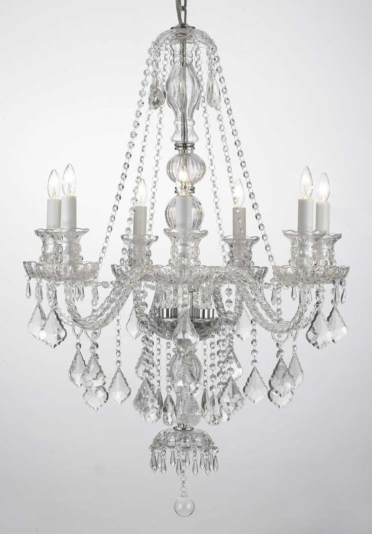 G46 CLEARSM4907 Royal Collection CHANDELIER Chandeliers Crystal