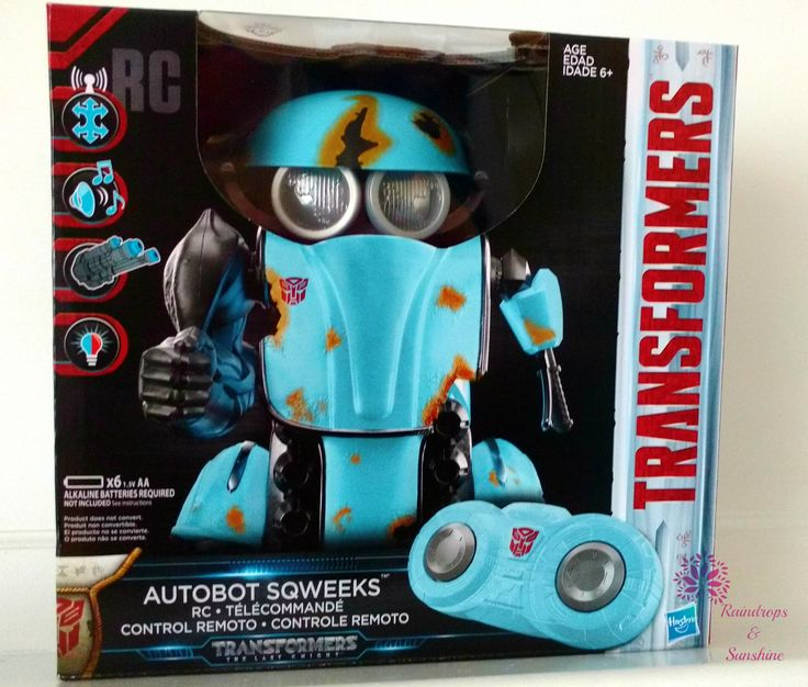 .Autobot Sqweeks is thelatest Transformers character from the 2017 film,Transformers: The Last Knight.This small Autobot with a BIG heart