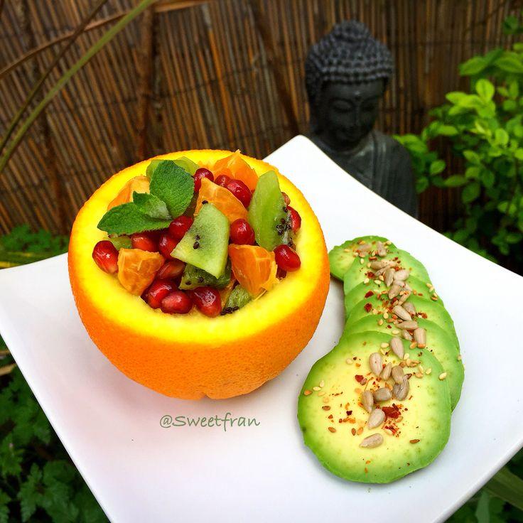 Frutas, mi comida preferida. Mi Instagram@sweetfran
