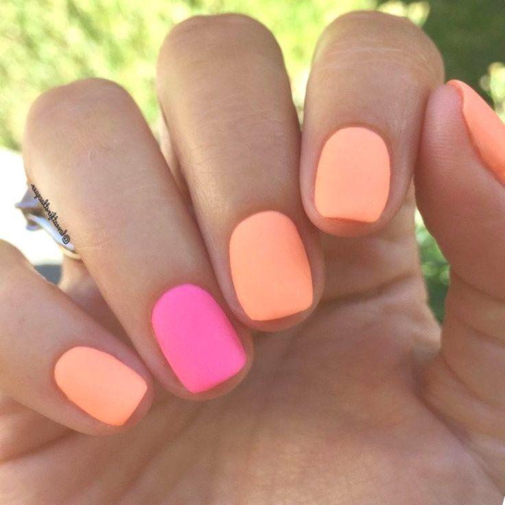 30+ Indrukwekkende kleurrijke nagels Ontwerpideeën voor de zomer #zomernagels #nagelsvoornumm …