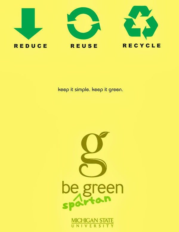 example of recycling poster | all about go green ...