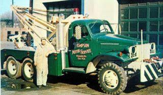 Tractari-Auto-Constanta.ro: Old recovery tow truck-Masini de tractare de epoca...