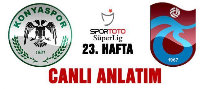 Torku Konyaspor - Trabzonspor CANLI!