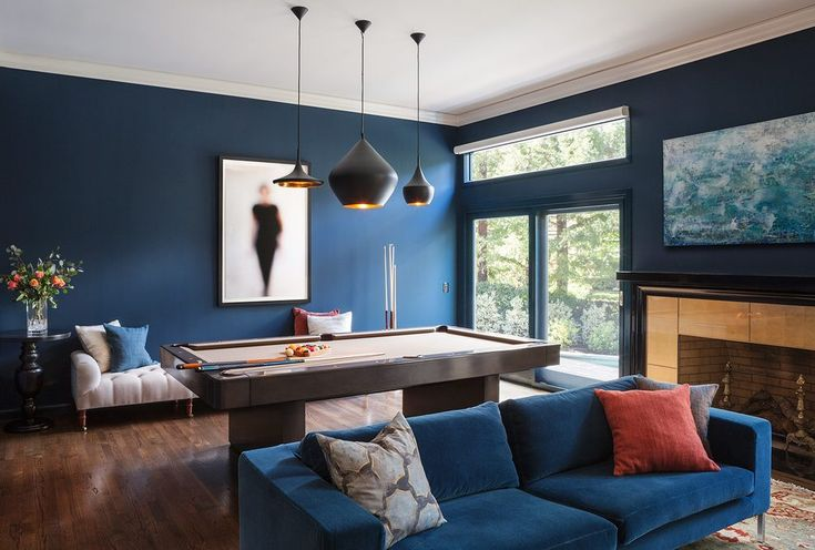 rec room ideas family room contemporary with chic metal game table accessories