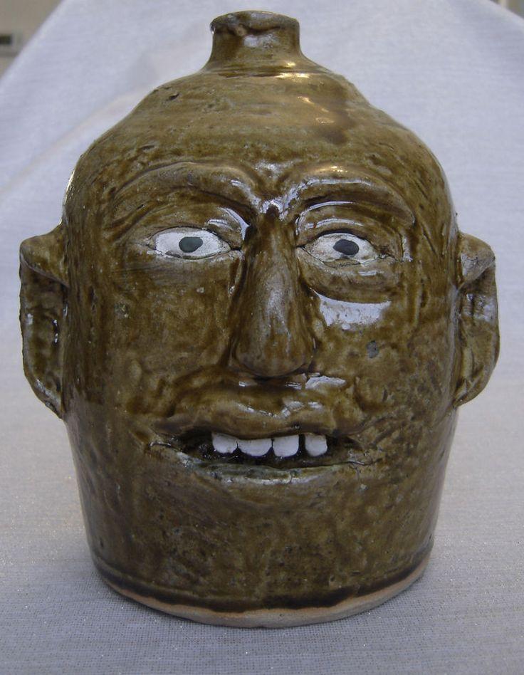 17 Best Images About Face Jugs On Pinterest Ceramics