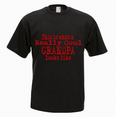 This Is What A Really Cool Grandpa Looks Like Tshirt - http://goo.gl/n5Xn1Q