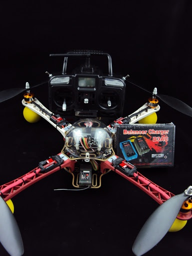 Mystery 4-Axis ( ET450 ) Multi Flame 450MM ( MMC10 ) Quadcopter Aircraft (RTF)