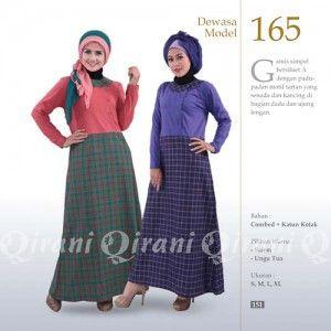 Baju Gamis Qirani Modis Model 165 Terbaru http://distromuslimah.net/baju-gamis-qirani-modis-model-165-terbaru/