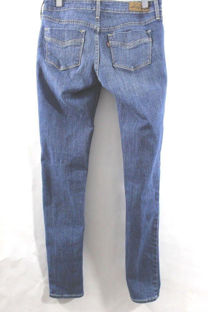 Levis Womans Jeans Slight Curve Dark Wash Skinny Modern Rise Size 25M 30 x 30 #Levis #SlimSkinny