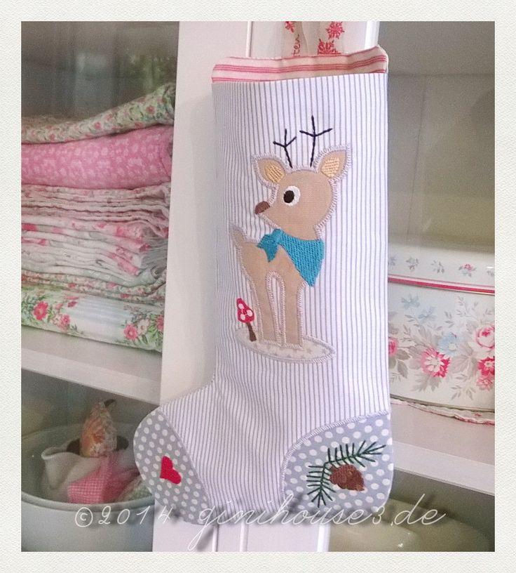 105 besten Nikolausstiefel / Christmas Stocking Bilder auf Pinterest ...