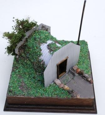 Anderson Shelter in 1/12th and 1/24th Scale - Part 2 of 2