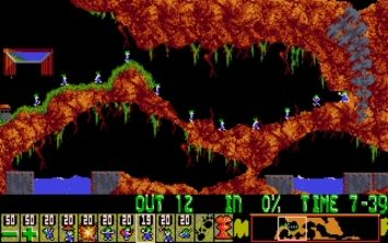 Play lemmings online flash game with sound and music (codes)