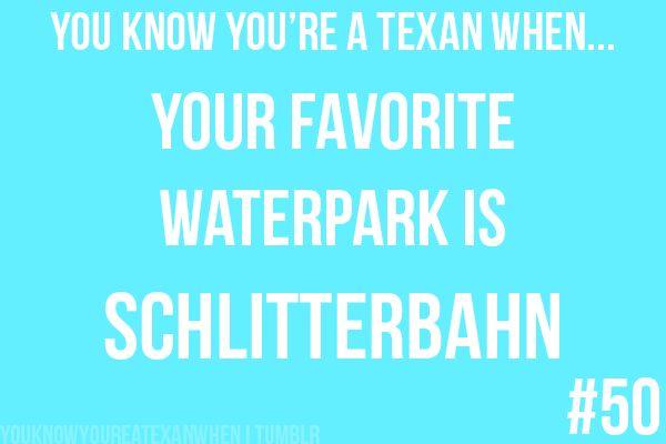 your favorite water park is schlitterbahn