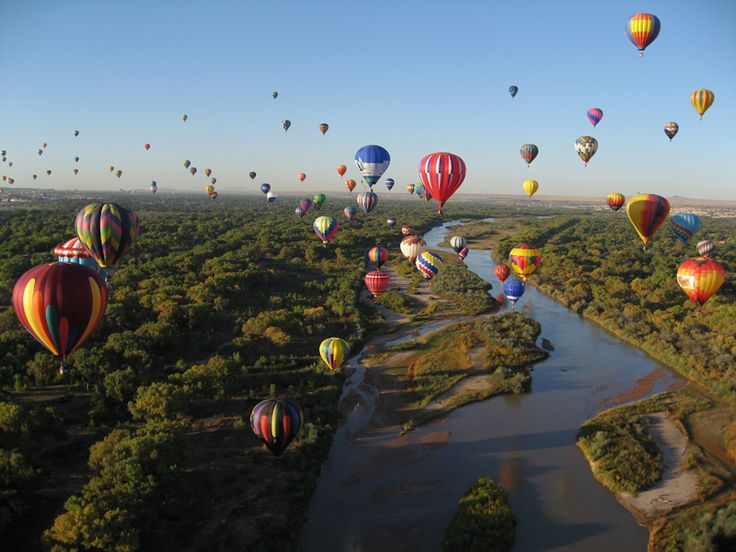 Floating above the level playing field has its advantages. | Along ...: Bucket List, Hotairballoons, Albuquerque International, Festival, International Balloon, Travel, Hot Air Balloons