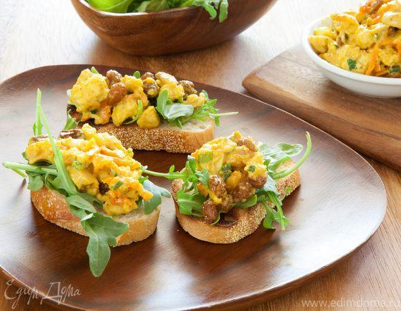 Бутерброды брускетта: готовим по рецептам ассорти закусок на блюде