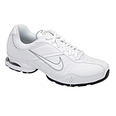 white nike nursing shoes