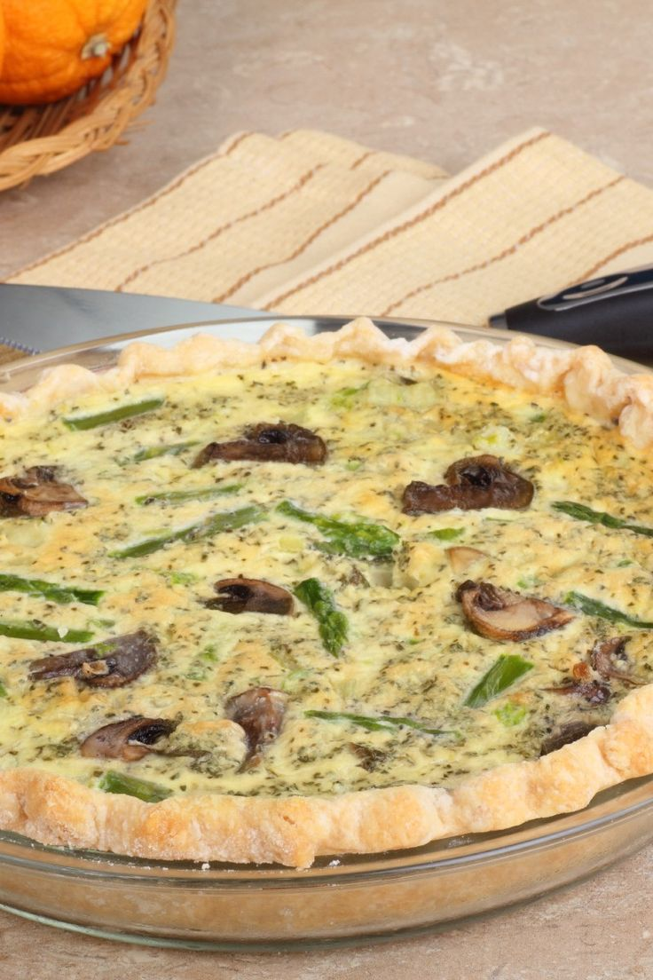 ... Recipes, Quiche on Pinterest | Quiche, Quiche Recipes and Mushrooms