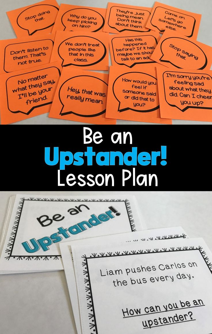 We all want our students to become upstanders! This lesson plan includes: opening 'hook' activity, discussion questions to pair with Dare!, The Juice Box Bully, or Say Something, interactive and collaborative activity for students to practice being an upstander (includes 24 scenarios), and exit ticket.
