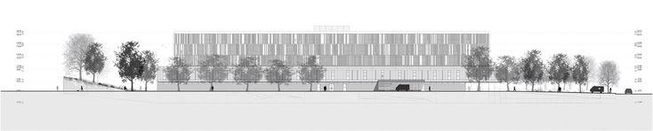 Galería - Fábrica de Paisaje, Primer Lugar en concurso sanatorio y centro nacional de rehabilitación / Montevideo - 20