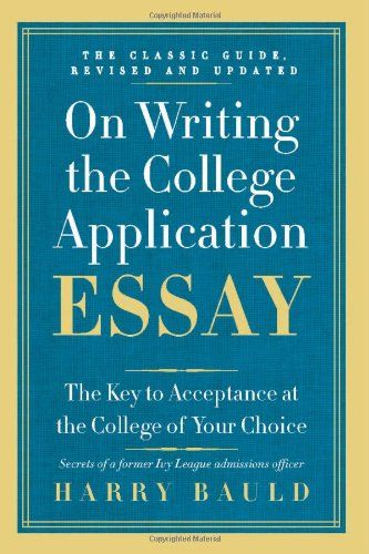 college admission essay format sample