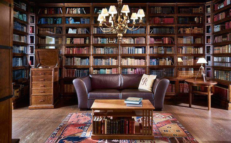 Boknäs kirjastohuone