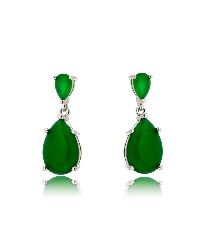 Compre Brinco prata inspired com zirconias esmeraldas semi joias na Waufen ✓ Semjoias Finas ✓ Ótimos Preços ✓ Entrega Rápida e Segura ✓ Pgto em até 12 Vezes