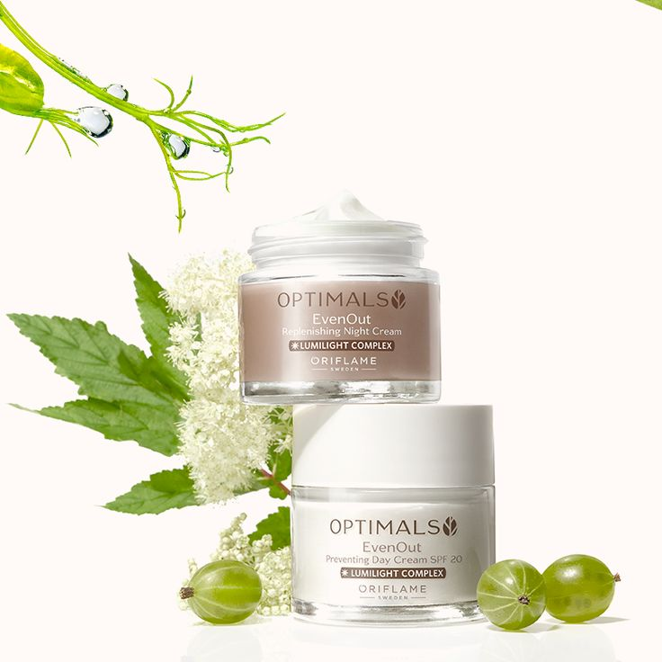 OriFact: ¿Sabías que la nueva línea Optimals Even Out contiene Ulmaria? ¡Una hierba rica en vitamina C que ayuda a disminuir las manchas de la piel!