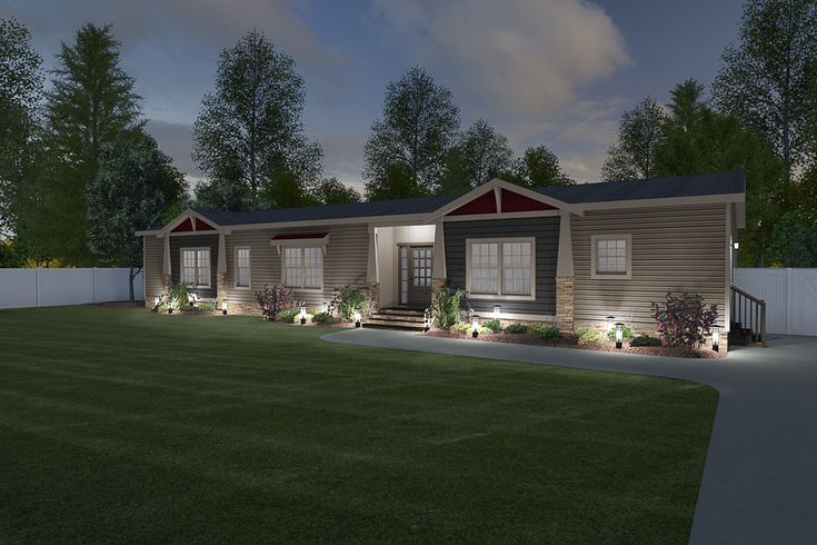 Clayton Homes of Covington manufactured or modular house details for THE ST CROIX home.