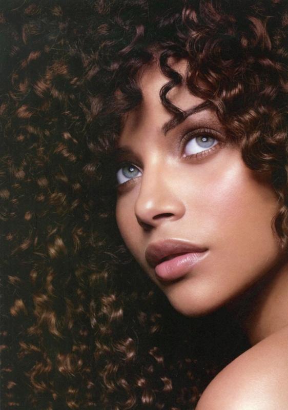 pretty: African American, Face, Denise Vasi, Makeup, Beautiful, Beauty, Curly Hair, Eyes, Black Women