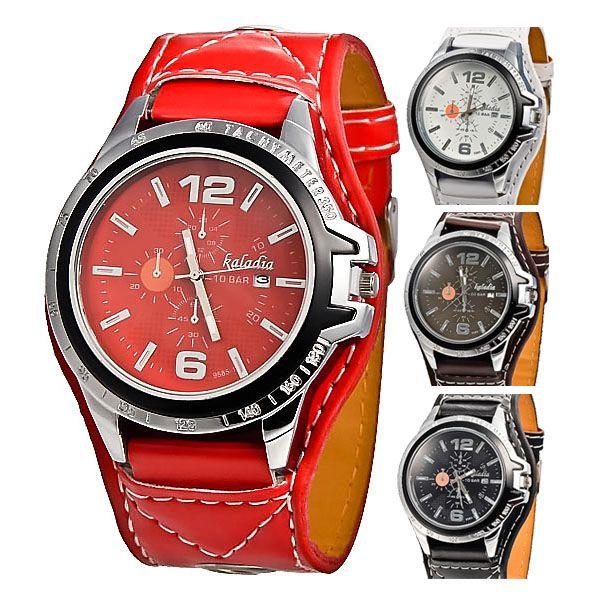Hodiny, vysoká kvalita, kalendár, prírodnej kože, kremeň Vlastnosti: * Nová značka s vysokou kvalitou * Presné quartz pre presné meranie času * 3 malé voľby nemôže pracovať, len pre dekoráciu * Krásne špeciálny dizajn a pohodlné na nosenie * Materiál puzdra: nerezová oceľ https://www.cosmopolitus.com/quality-watches-calendar-display-leather-strap-quartz-watch-p-200555.html?language=sk&pID=200555 #kozene #hodinky #znerezovej #ocele #baterie #pohodlne #nenakladne #jednofarebnost #cervenymi