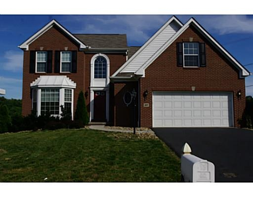 Sold 107 Woodhaven Drive Cecil Pa Washington County 3 Year Old Ryan Home With A First Floor