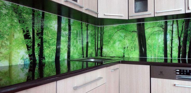 Details zu Küchenspiegel, Fliesenspiegel, Nischenverkleidung, kein - nischenplatten für küchen
