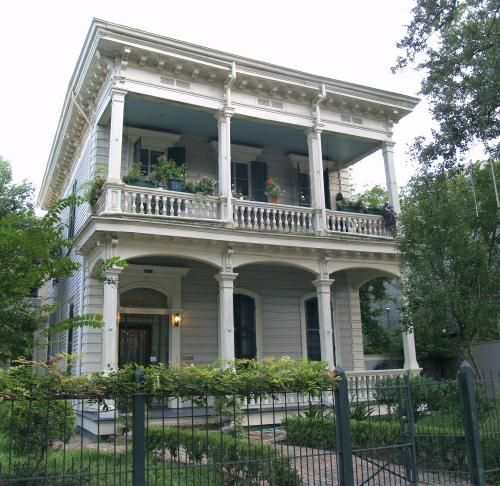 New Orlean's Garden District... a dream location, like to the nth. I wonder how a historic home like this would look with contemporary decorating? Would love to work on this project someday :)