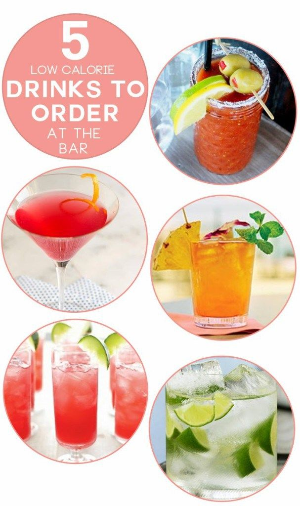 5 low calorie drinks to order at the bar bar drinks and for Cocktail 0 calorie