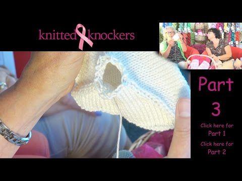 Seni a maglia da donare a chi ha subito la mastectomia (VIDEOTUTORIAL)