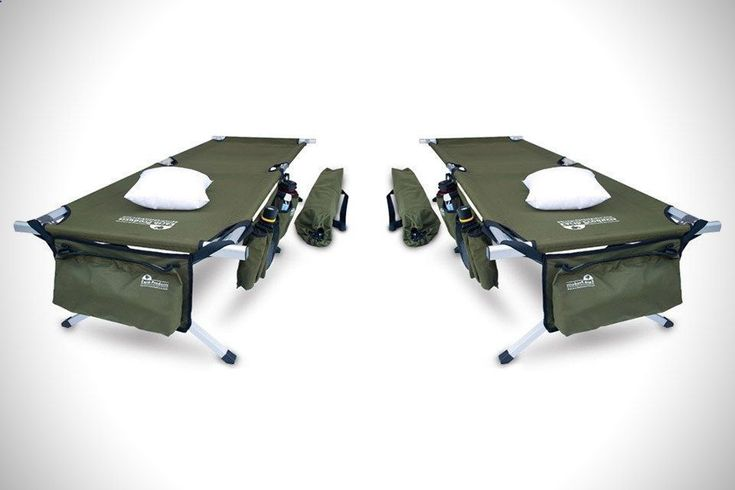 Military-Style Camping Cot   HiConsumption #CampingCot