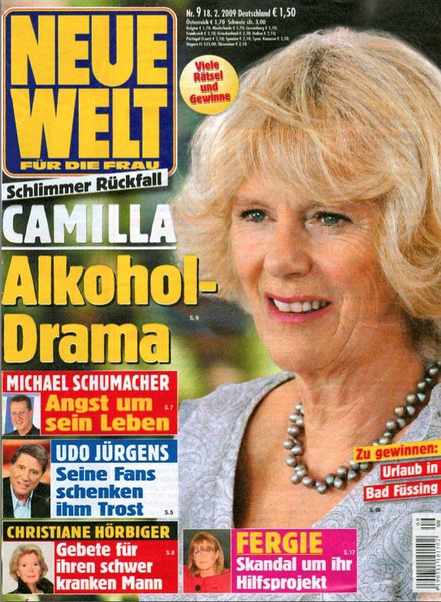 NEUE WELT NR. 9 12.2.2009 - FERGIE