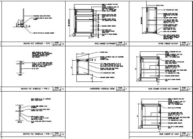 Millwork Detail RENDERING CAD REVIT PHOTOSHOP