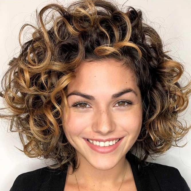55 Beloved Short Curly Hairstyles For Women Of Any Age Lovehairstyles Short Wavy Hair Curly Hair Styles Curly Hair Styles Naturally
