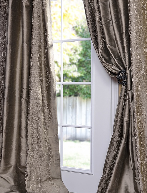 25 Best Ideas About Silk Drapes On Pinterest Luxury Curtains Drapery Styles And Drapery Designs