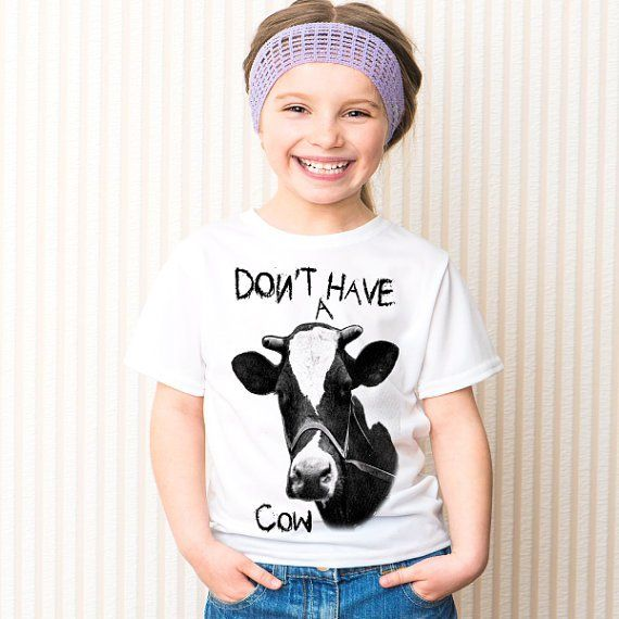 Pin for Later: 16 Graphic Shirts That Fit Tots to a T Don't Have a Cow Shirt How fun is this Don't Have a Cow shirt ($10-$15)?