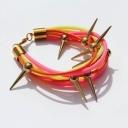 spikes bracelet more on www.beetlemellow.pl