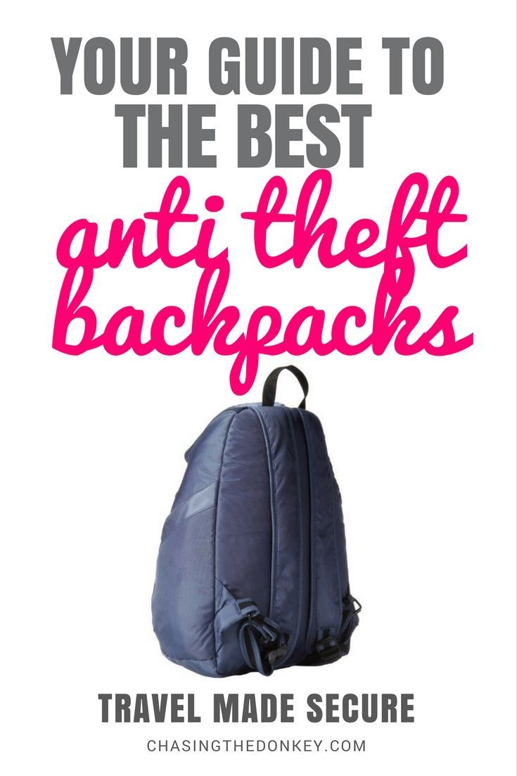 430e4259c2 Stay safe on your travels and keep your valuables protected with an anti  theft backpack. Use this guide to compare reviews of the best anti theft  backpacks ...