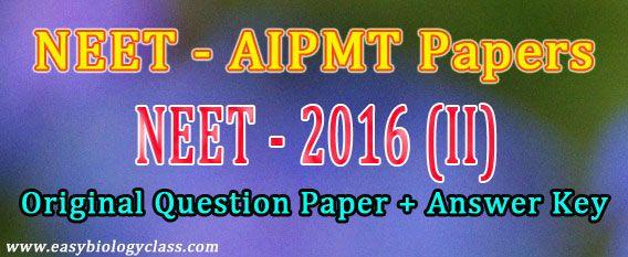 Aipmt Form 2016 Pdf