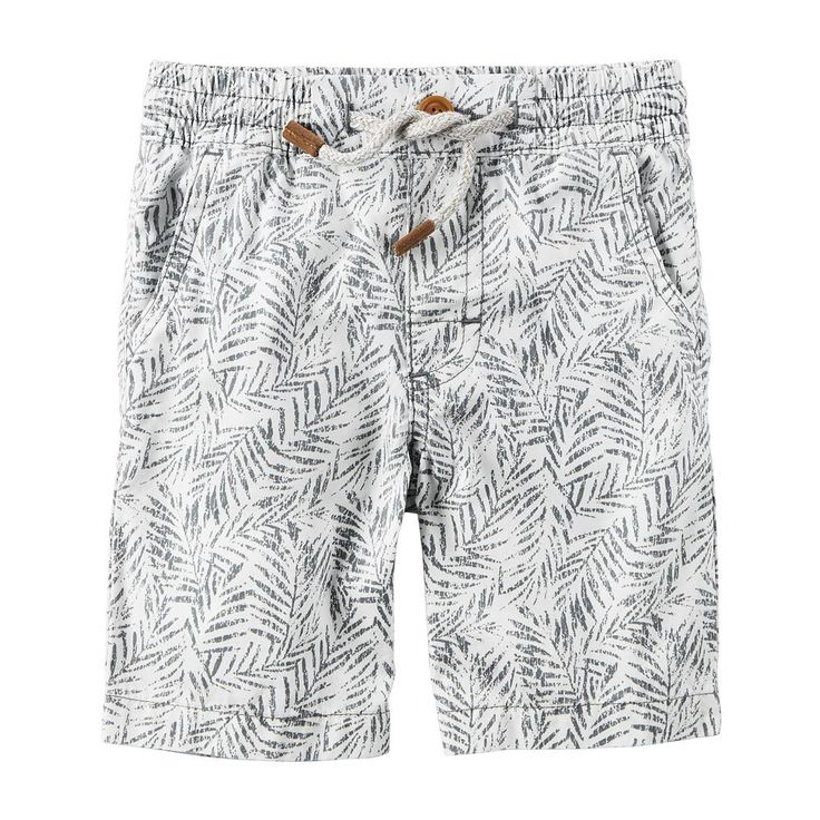 Baby Boy Carter's Patterned Pull-On Shorts, Size: 24 Months, Ovrfl Oth