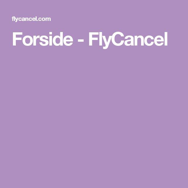Forside - FlyCancel
