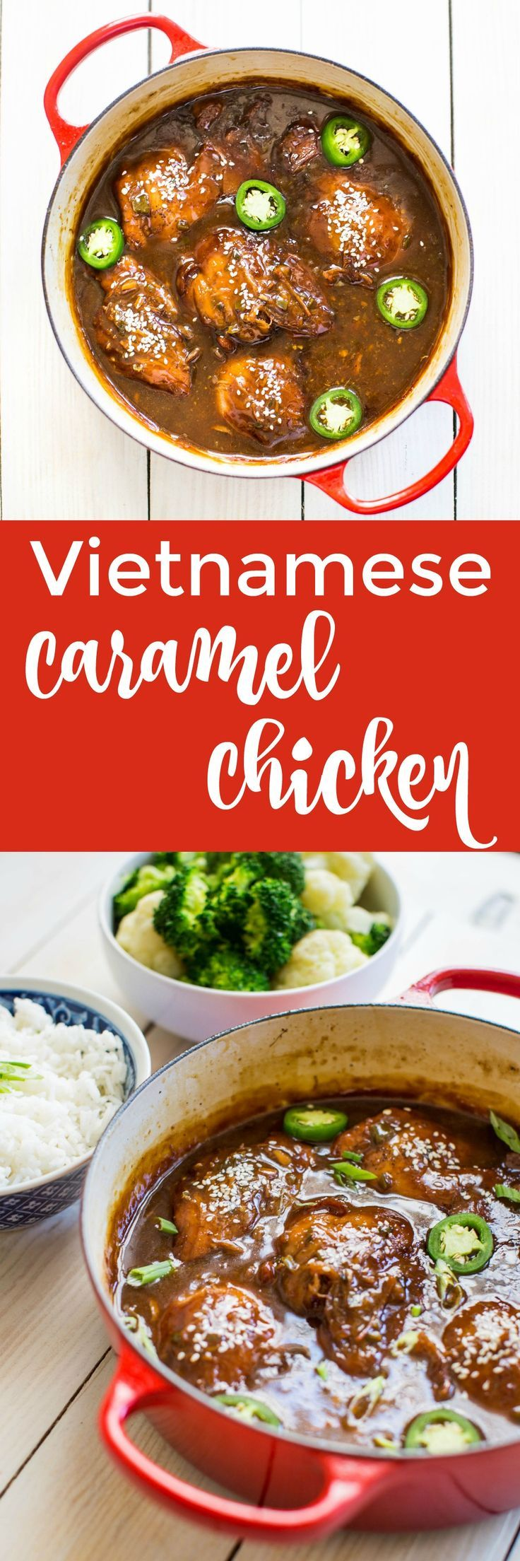 Vietnamese Caramel Chicken, Delicious Recipe To Warm You Up On A Cold Fall Night!