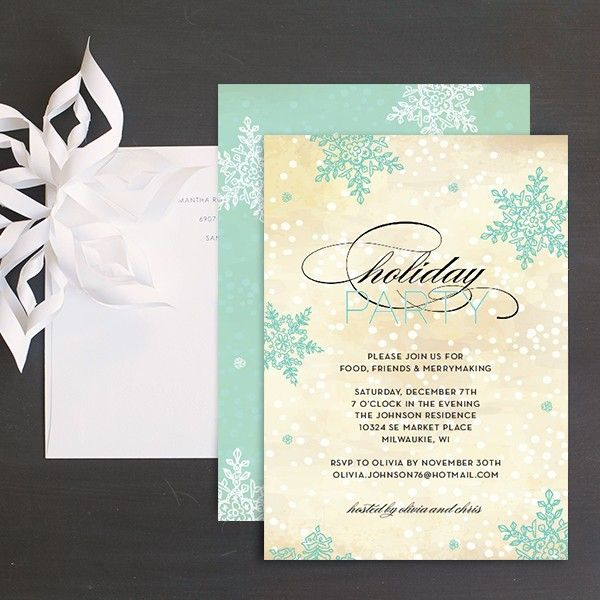 60 Best Images About Christmas Invitation Greeting Cards